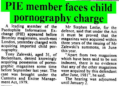 Times 171184 - PIE member faces child pornography charge