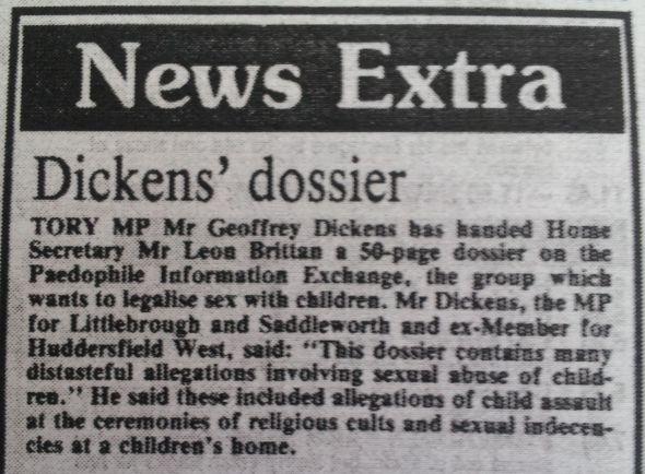 Huddersfield Daily Examiner 19184 - Dickens' dossier