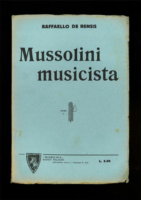De Rensis, Raffaello - Mussolini musicista-page-001