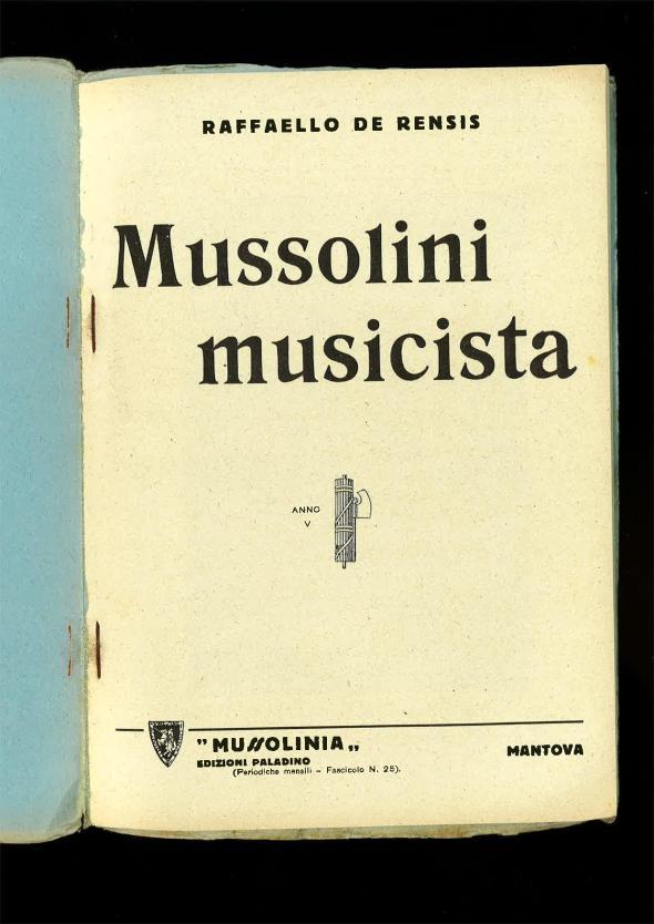 De Rensis, Raffaello - Mussolini musicista-page-002